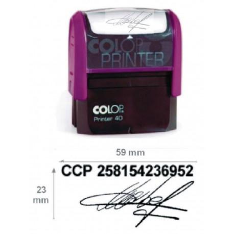 Tampon Signature Chèque